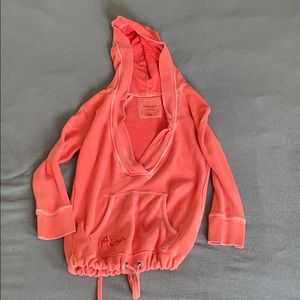 Beach cover hoodie size small American eagle used